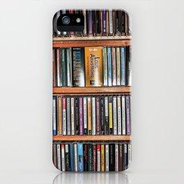 CD's on a Shelf iPhone Case