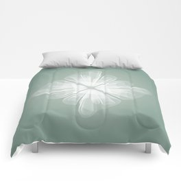 White Tulle Comforters