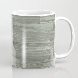 Green Bamboo Planks Coffee Mug