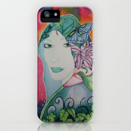 Gaia is Calling iPhone Case
