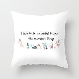 Expensive Throw Pillow