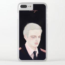 sebastian stan fanart - kings Clear iPhone Case