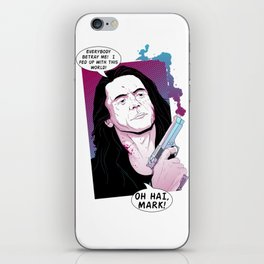 Oh Hai Mark iPhone Skin