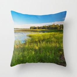 Isle La Motte Throw Pillow