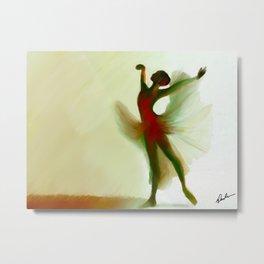 Shadow Dancer Metal Print