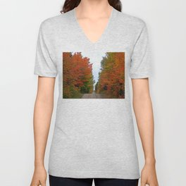 Seeing Red and Loving it Unisex V-Neck