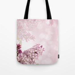 Lilic floral Tote Bag