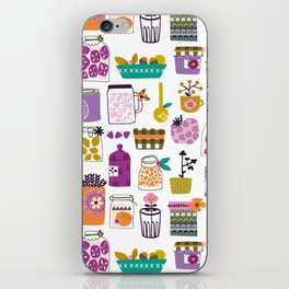 Pots! Pots! Pots! iPhone Skin