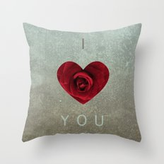 ily Throw Pillow