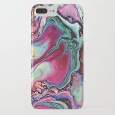 Colorful abstract marble iPhone 7 Plus Slim Case