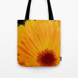 Orange Pot Marigold Tote Bag