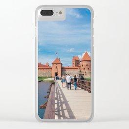 Trakai Island Castle Clear iPhone Case
