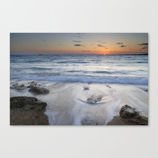 Atlantic Ocean. Canvas Print