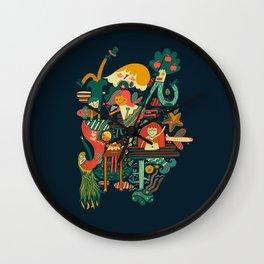 Crazy dream Wall Clock