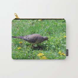 Dove in the Dandelions Carry-All Pouch