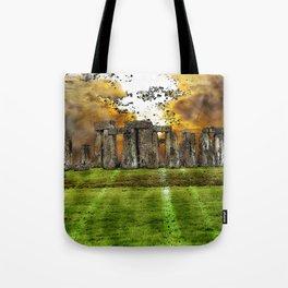 Henge at Sunsleep - Stonehenge Tote Bag