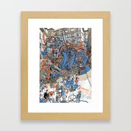 EUROPEAN JOURNAL #2 Framed Art Print