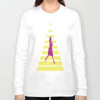emma watson Long Sleeve T-shirts featuring Emma by ∆∑M¬