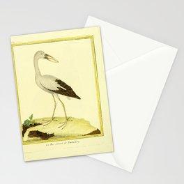 093 bec ouvert (Fr) Stationery Cards