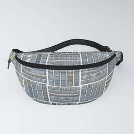 The Bookish Checkerboard Fanny Pack