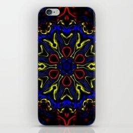 Primary Kaleidoscope iPhone Skin