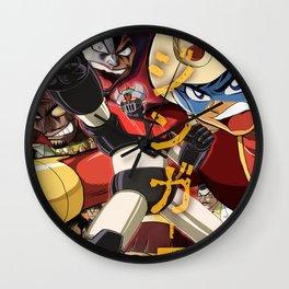 Manga 07 Wall Clock