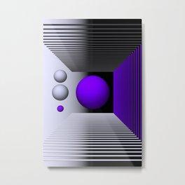 3D-geometry -3- Metal Print