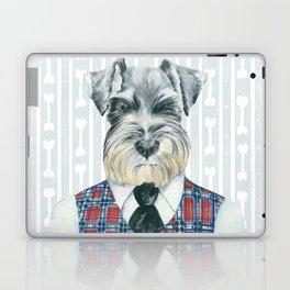 Schnauzer Mc Doogall Laptop & iPad Skin