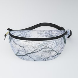 Abstract tree trunks Fanny Pack