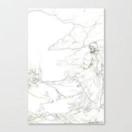 Knights Shame Canvas Print