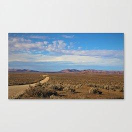 Open Road, Outback Australia Canvas Print