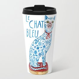 Le Chat Bleu Travel Mug