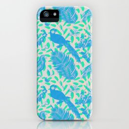 GUACAMAYA AZUL iPhone Case
