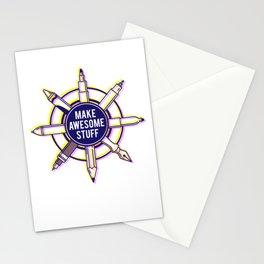 Make awesome stuff Stationery Cards