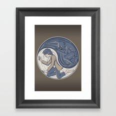 Ring Yang Framed Art Print