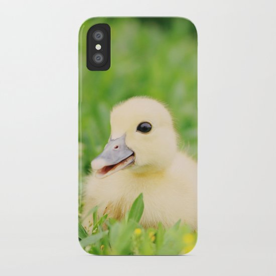 Happy-Go-Ducky iPhone Case