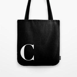 Initial C Tote Bag