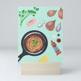 Let's Make Pasta! Mini Art Print