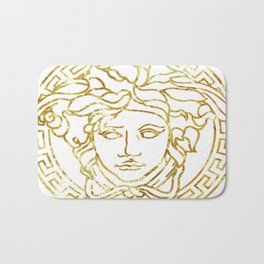 Versace White Bath Mat