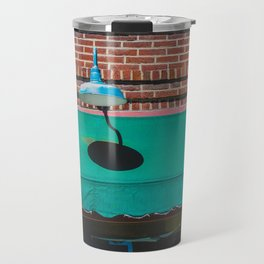 Outdoor Lighting and Awning Short North Arts District Ohio Travel Mug