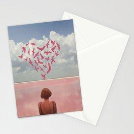 Au loin, far away Stationery Cards