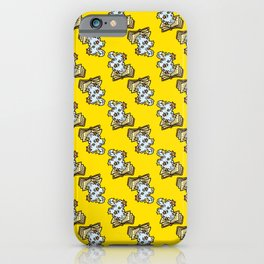 Magic Spellbook on Badger Yellow for Witch and Wizard School iPhone Case