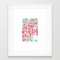 ponyo Framed Art Prints featuring Ponyo by drawnbyhanna