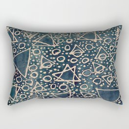 crowded party Rectangular Pillow