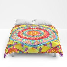 Sun Mandala Comforters