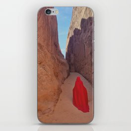 Portrait in Red | Arches VIIII iPhone Skin