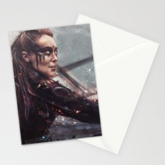 Warrior Lexa Stationery Cards