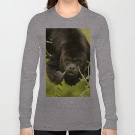 Howler monkey Long Sleeve T-shirt