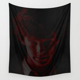 A Study In Scarlet Wall Tapestry