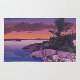 French River Provincial Park Rug